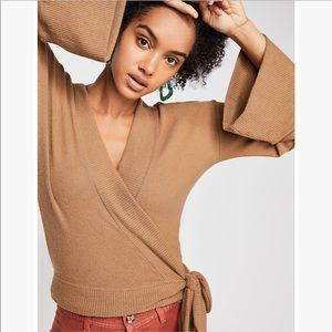 Free People Beach Wrap Me Up Pullover